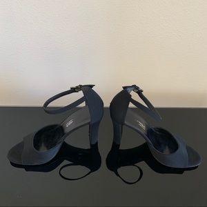 Black Via Spiga heels